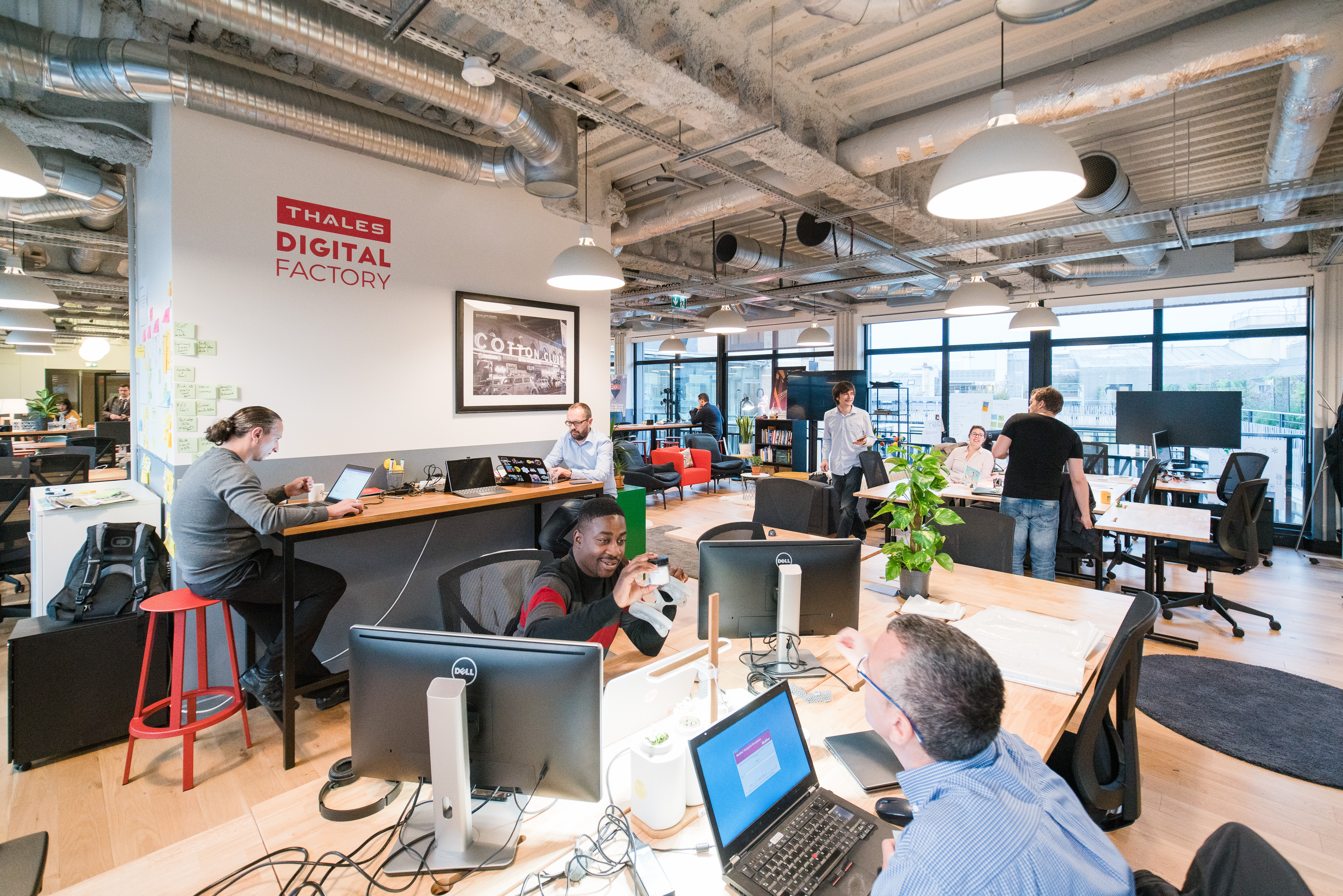 Thales Digital Factory at WeWork Paris